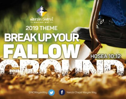 Break Fallow Ground: Honoring God with our Treasures pt 2
