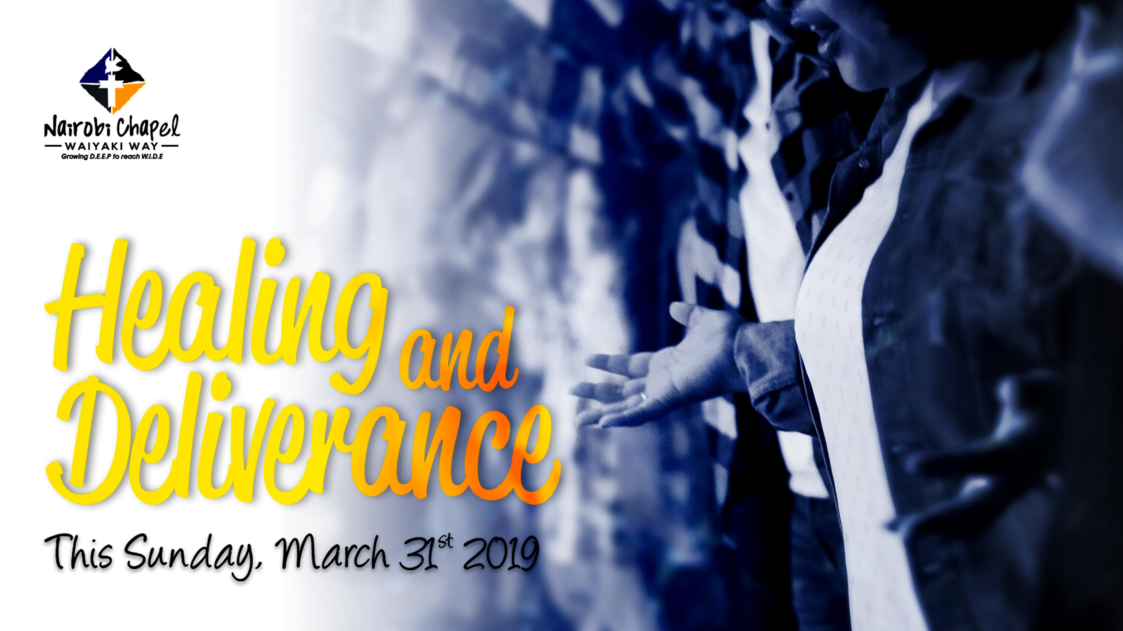 Prayer and Healing Service