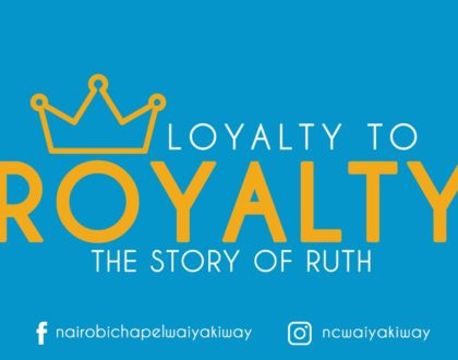 Loyalty to Royalty - There are no Coincedences with God - Part 2
